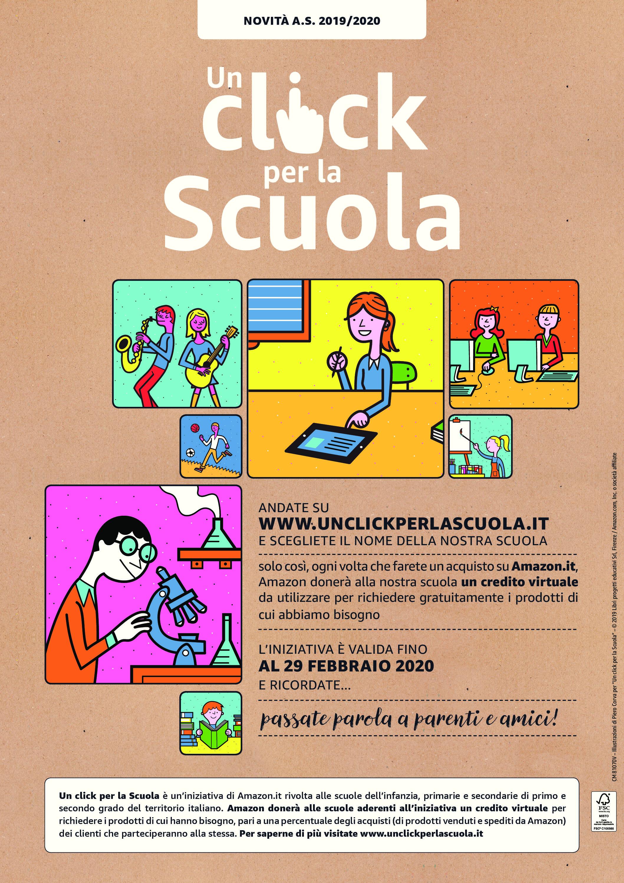 Amazon: Un click per la scuola